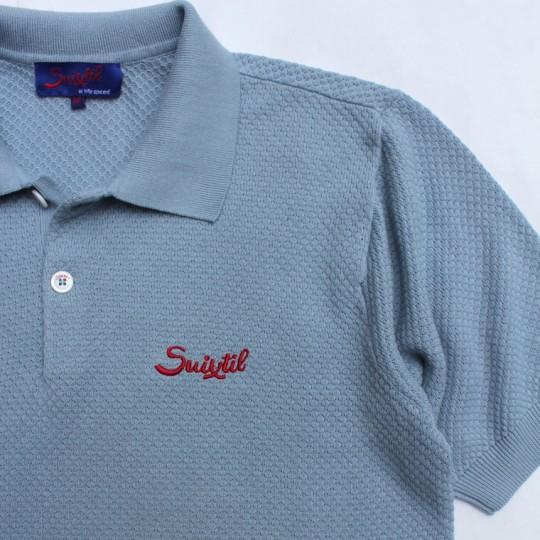 Suixtil Nassau Polo Shirt Light Blue