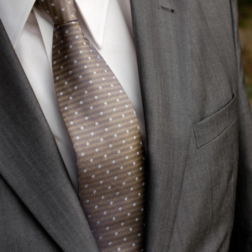 Suixtil Gold/Beige Tie
