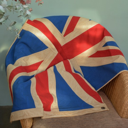 Vintage Union Jack Flag / Throw