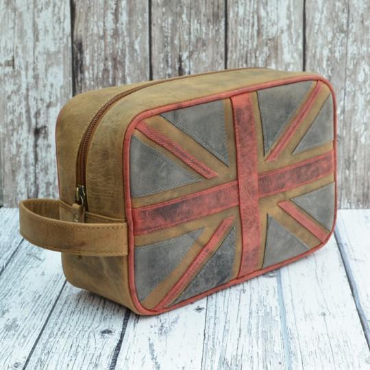 Union Jack Wash Bag