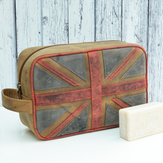 Union Jack Wash Bag