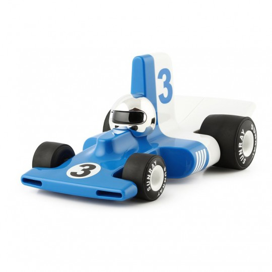 Velocita Formula 1 Racing Car Blue