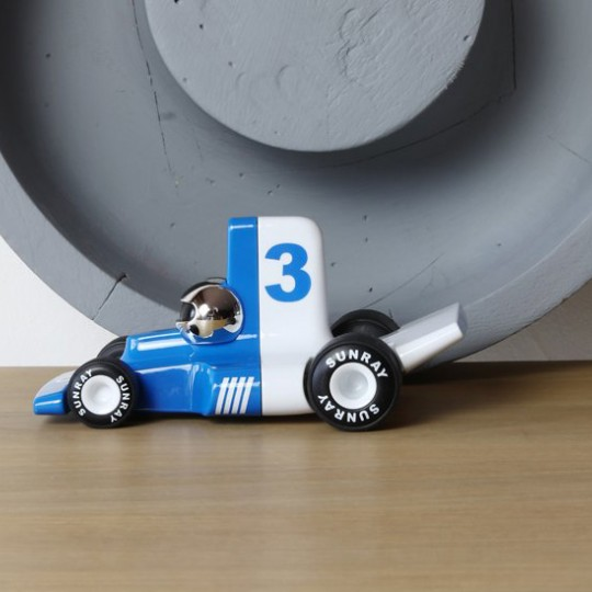 Velocita Formula 1 Racing Car Blue
