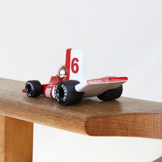 Velocita Formula 1 Racing Car Red