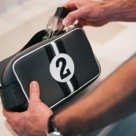 Racing Number Grey Wash Bag No2