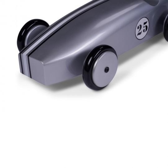 Mahogany Racing Car Silver
