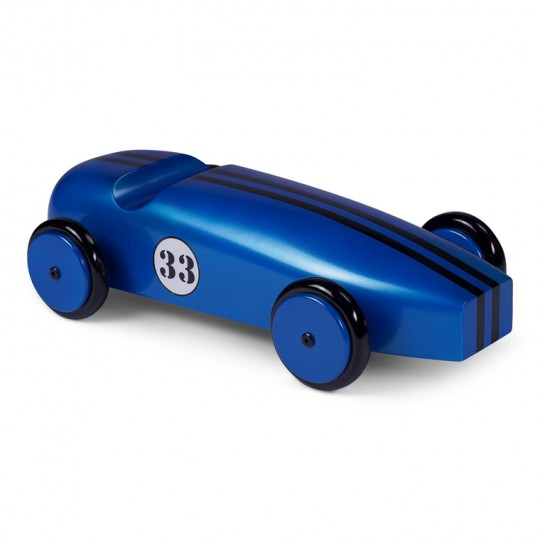 Mahogany Racing Car Blue