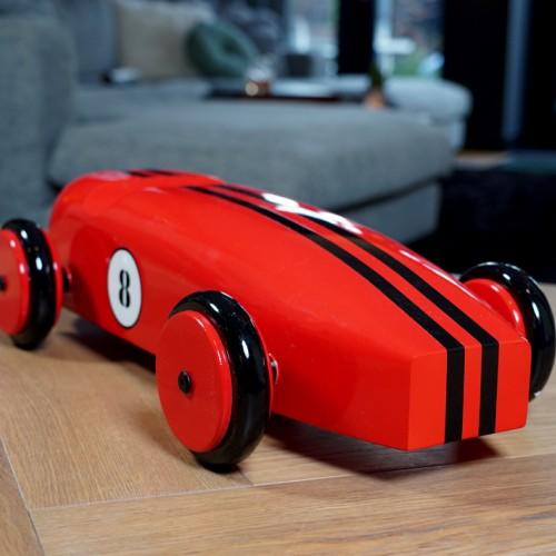 Mahogany Racing Car Red