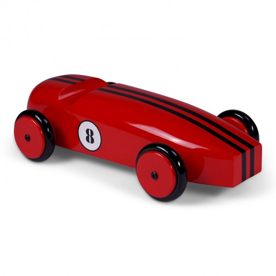 Mahogany Racing Car Red